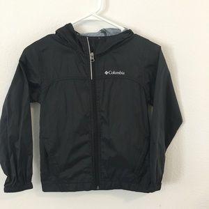 Light weight kids Columbia rain jacket